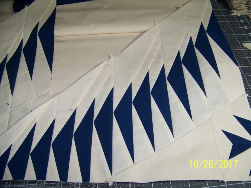 #paperpiecing #flyinggeesequilt #quilt #paperpiecedflyinggeese