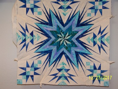 paperpiecing: quilting: flying geese