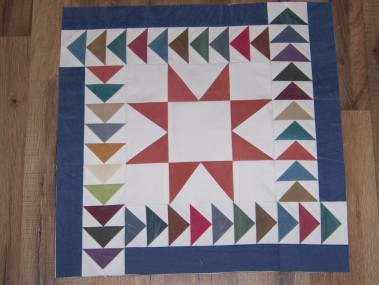 mosaic quilt;, flyinggeese; flyinggeesequilt